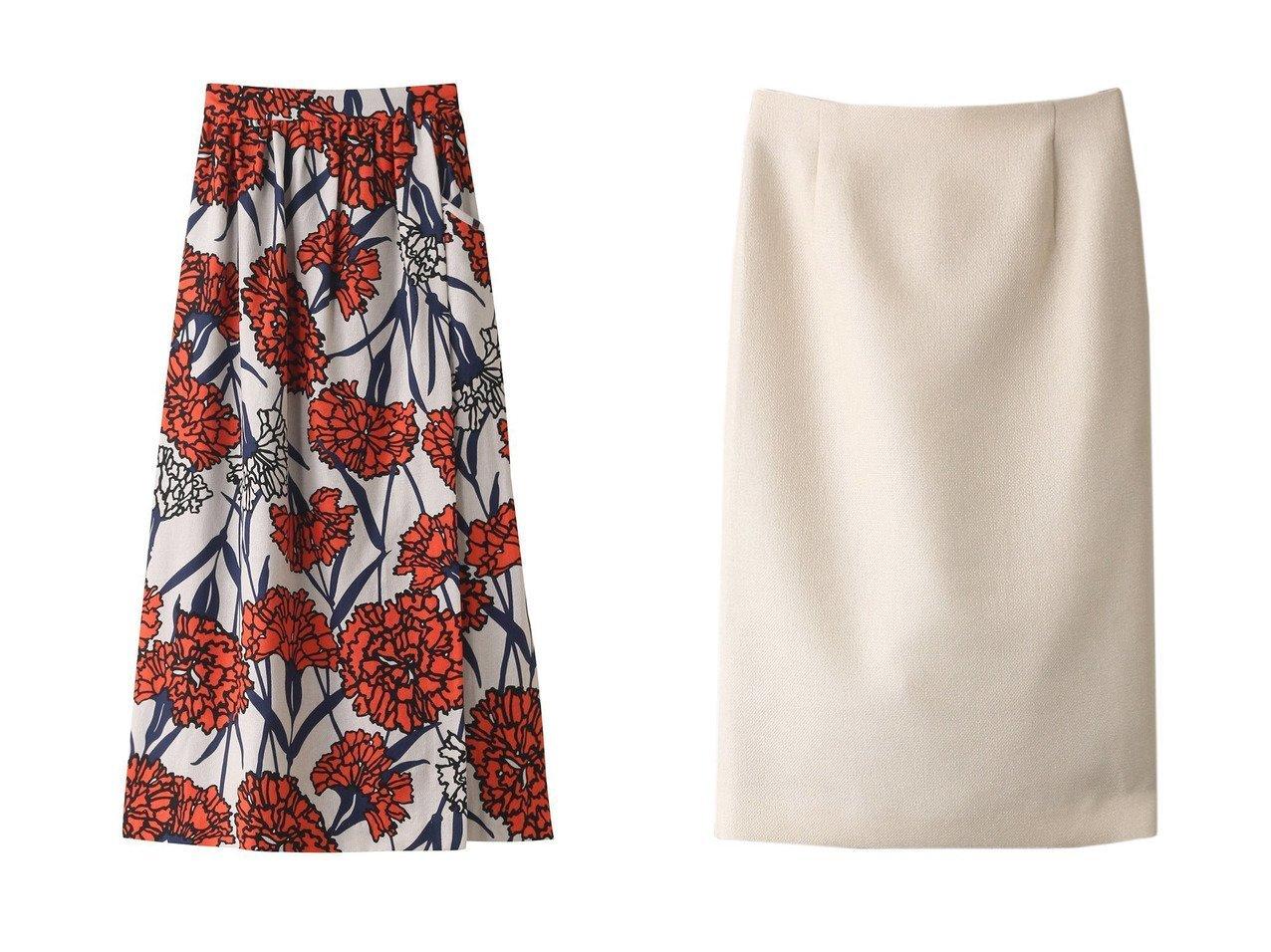 【ANAYI/アナイ】のEバスケットストレッチタイトスカート&【ROSE BUD/ローズバッド】の【mici】フラワープリントロングスカート 【スカート】おすすめ!人気トレンド・レディースファッション通販 おすすめで人気の流行・トレンド、ファッションの通販商品 インテリア・家具・メンズファッション・キッズファッション・レディースファッション・服の通販 founy(ファニー) https://founy.com/ ファッション Fashion レディースファッション WOMEN スカート Skirt ロングスカート Long Skirt S/S・春夏 SS・Spring/Summer おすすめ Recommend シンプル ジャケット セットアップ タイトスカート バスケット 夏 Summer 春 Spring カットソー トレンド フラワー プリント ロング  ID:crp329100000051518