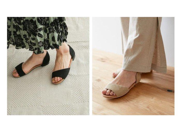 【URBAN RESEARCH DOORS/アーバンリサーチ ドアーズ】のセパレートフラットサンダル 【シューズ・靴】おすすめ!人気トレンド・レディースファッション通販 おすすめ人気トレンドファッション通販アイテム インテリア・キッズ・メンズ・レディースファッション・服の通販 founy(ファニー) https://founy.com/ ファッション Fashion レディースファッション WOMEN インソール コルク サンダル シューズ セパレート 人気 フラット リゾート リラックス 再入荷 Restock/Back in Stock/Re Arrival 夏 Summer |ID:crp329100000051519