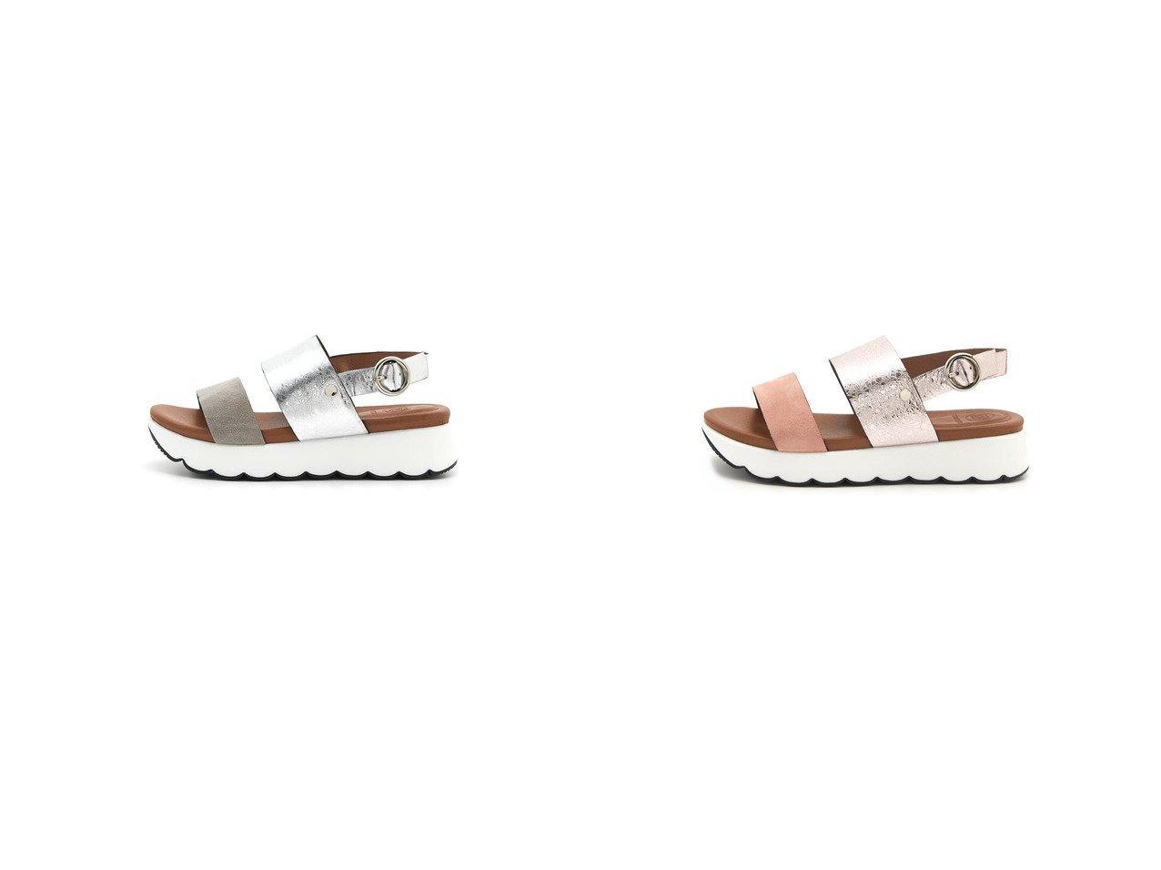 【STACCATO/スタッカート】のグリッターコンビクラウドヒールサンダル S.PNK 【シューズ・靴】おすすめ!人気トレンド・レディースファッション通販 おすすめで人気の流行・トレンド、ファッションの通販商品 インテリア・家具・メンズファッション・キッズファッション・レディースファッション・服の通販 founy(ファニー) https://founy.com/ ファッション Fashion レディースファッション WOMEN 2020年 2020 2020春夏・S/S SS・Spring/Summer/2020 S/S・春夏 SS・Spring/Summer スエード スカラップ メタリック 夏 Summer 春 Spring |ID:crp329100000051524