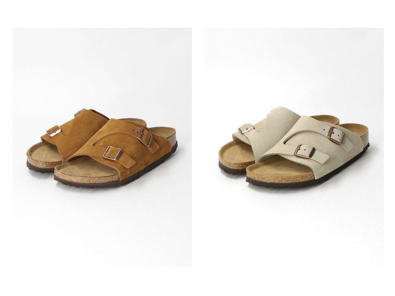 【BEAUTY&YOUTH / UNITED ARROWS/ビューティ&ユース ユナイテッドアローズ】のBIRKENSTOCK(ビルケンシュトック) スエードZURICH サンダル 【シューズ・靴】おすすめ!人気トレンド・レディースファッション通販 おすすめで人気の流行・トレンド、ファッションの通販商品 インテリア・家具・メンズファッション・キッズファッション・レディースファッション・服の通販 founy(ファニー) https://founy.com/ ファッション Fashion レディースファッション WOMEN クッション サンダル シューズ スエード スタンダード 定番 Standard フィット ミュール ラップ ロンドン |ID:crp329100000051528