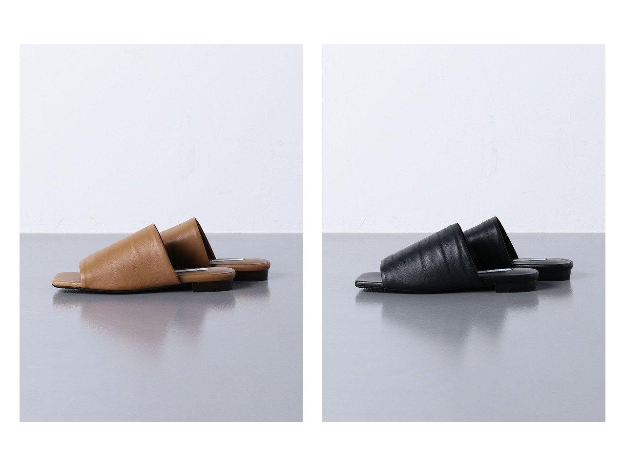 【UNITED ARROWS/ユナイテッドアローズ】のUWCMD スクエア ミュール フラット サンダル 【シューズ・靴】おすすめ!人気トレンド・レディースファッション通販 おすすめで人気の流行・トレンド、ファッションの通販商品 インテリア・家具・メンズファッション・キッズファッション・レディースファッション・服の通販 founy(ファニー) https://founy.com/ ファッション Fashion レディースファッション WOMEN サンダル シューズ スクエア フラット ミュール |ID:crp329100000051529