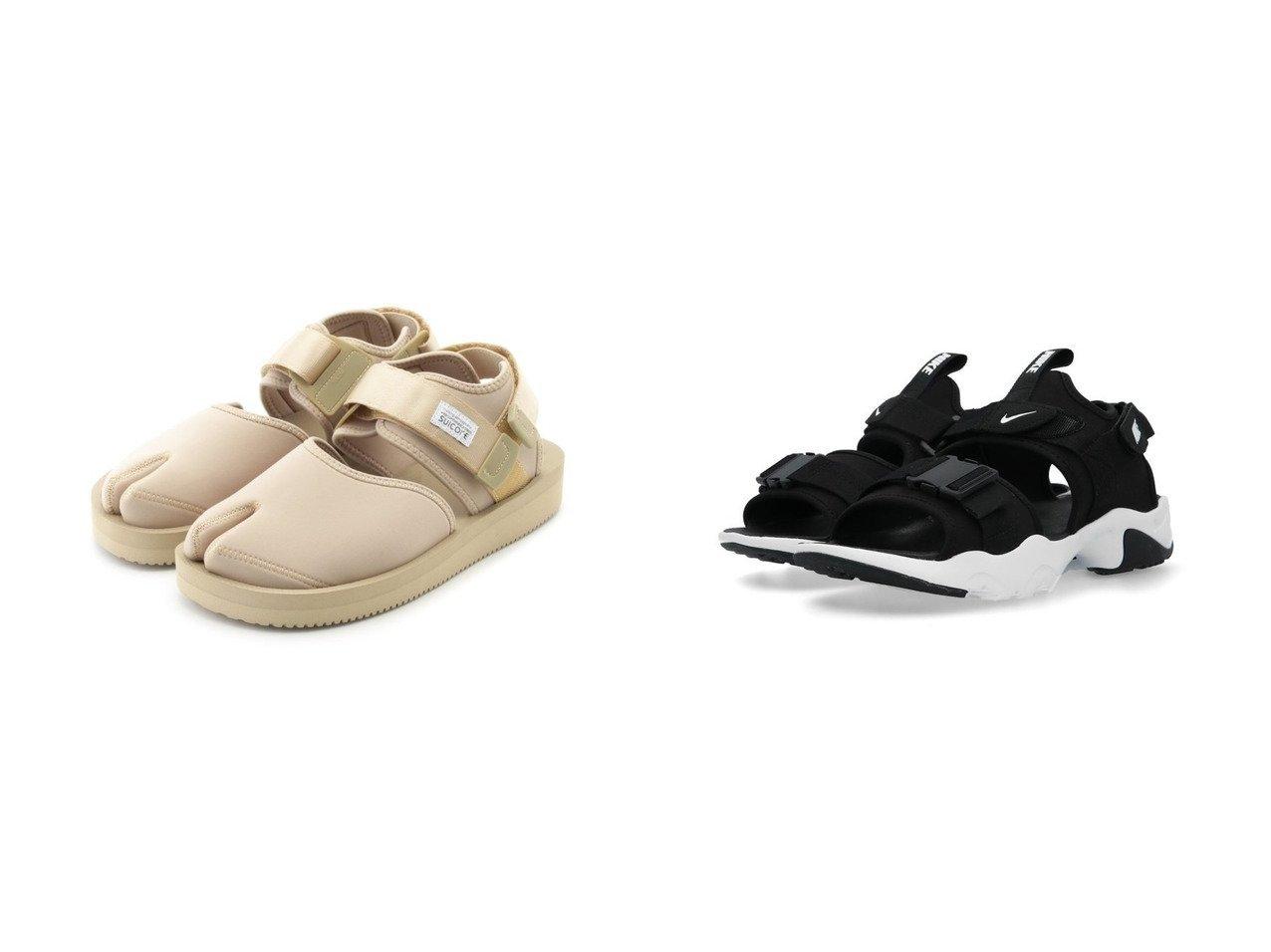 【NIKE/ナイキ】のWSキャニオンサンダル&【emmi/エミ】の【SUICOKE】BITA-V 【シューズ・靴】おすすめ!人気トレンド・レディースファッション通販 おすすめで人気の流行・トレンド、ファッションの通販商品 インテリア・家具・メンズファッション・キッズファッション・レディースファッション・服の通販 founy(ファニー) https://founy.com/ ファッション Fashion レディースファッション WOMEN クッション サンダル シューズ ミュール ビーチ フォーム 夏 Summer |ID:crp329100000051531