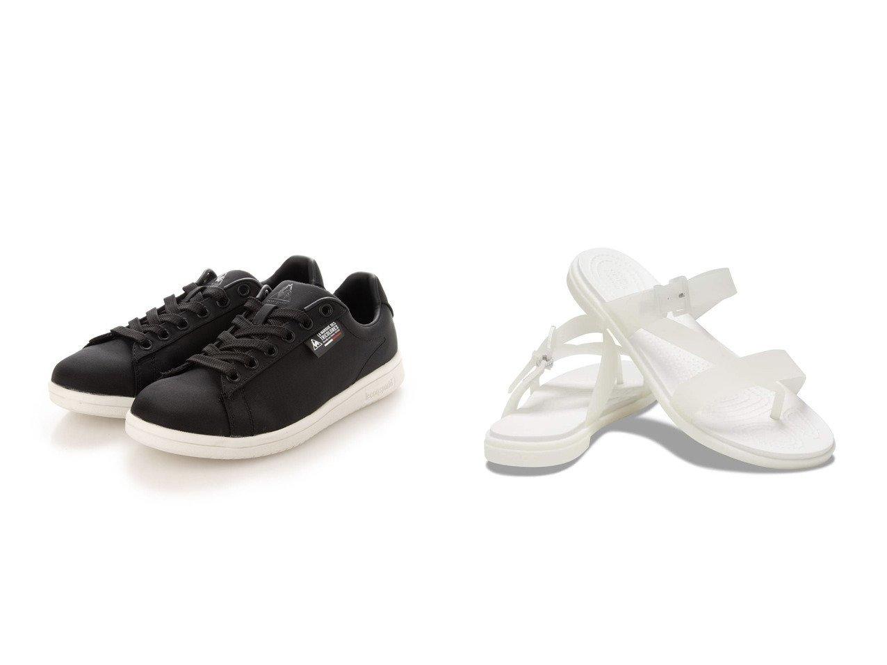 【le coq sportif/ルコックスポルティフ】のLA ローラン LA ROLAND R&【crocs/クロックス】のCrocs Tulum Translucent Toe Post W おすすめ!人気、トレンド・レディースファッションの通販 おすすめで人気の流行・トレンド、ファッションの通販商品 インテリア・家具・メンズファッション・キッズファッション・レディースファッション・服の通販 founy(ファニー) https://founy.com/ ファッション Fashion レディースファッション WOMEN 2021年 2021 2021春夏・S/S SS/Spring/Summer/2021 S/S・春夏 SS・Spring/Summer おすすめ Recommend 夏 Summer 春 Spring  ID:crp329100000051806