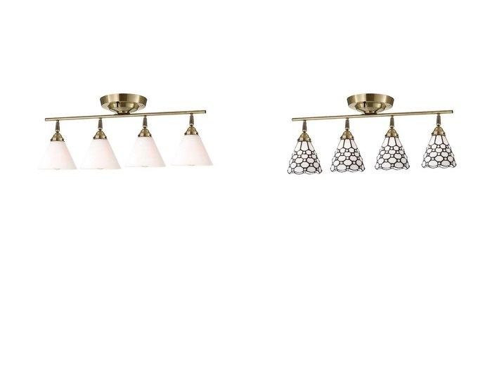 【FLYMEe Factory/フライミー ファクトリー】のCUSTOM SERIES 4 Ceiling Lamp × カスタムシリーズ 4灯シーリングランプ × トランス(ジャム)&CUSTOM SERIES 4 Ceiling Lamp × カスタムシリーズ 4灯シーリングランプ × ステンドグラス(ドッツ) 【シーリングライト FURNITURE】おすすめ!人気、インテリア雑貨・家具の通販  おすすめ人気トレンドファッション通販アイテム 人気、トレンドファッション・服の通販 founy(ファニー) 送料無料 Free Shipping ドット ハンド ガラス シンプル フォルム 台形 ホーム・キャンプ・アウトドア Home,Garden,Outdoor,Camping Gear 家具・インテリア Furniture ライト・照明 Lighting & Light Fixtures シーリングライト |ID:crp329100000051808