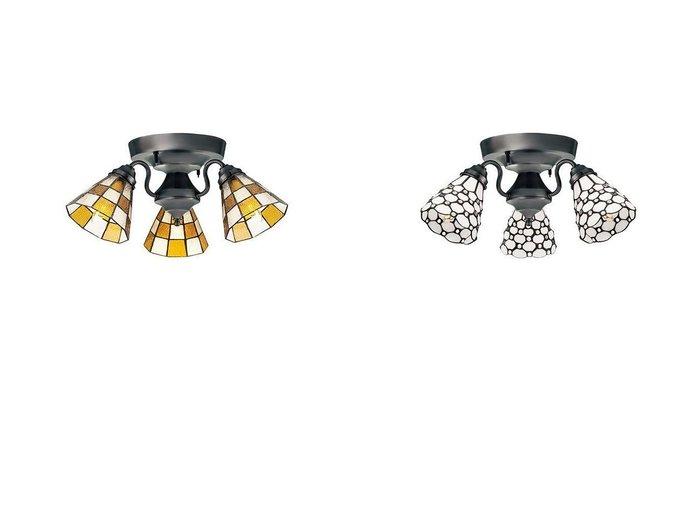 【FLYMEe Factory/フライミー ファクトリー】のCUSTOM SERIES 3 Ceiling Lamp × カスタムシリーズ 3灯シーリングランプ × ステンドグラス(ドッツ)&CUSTOM SERIES 3 Ceiling Lamp × カスタムシリーズ 3灯シーリングランプ × ステンドグラス(チェッカー) 【シーリングライト FURNITURE】おすすめ!人気、インテリア雑貨・家具の通販  おすすめ人気トレンドファッション通販アイテム 人気、トレンドファッション・服の通販 founy(ファニー) 送料無料 Free Shipping アンティーク イエロー オレンジ ハンド ホーム・キャンプ・アウトドア Home,Garden,Outdoor,Camping Gear 家具・インテリア Furniture ライト・照明 Lighting & Light Fixtures シーリングライト |ID:crp329100000051817
