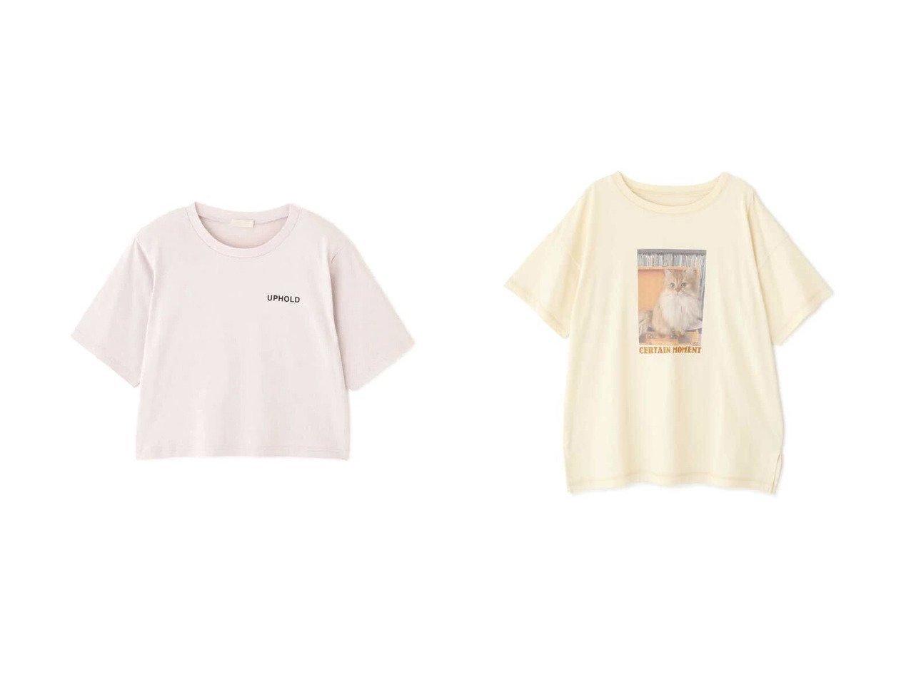 【FREE'S MART/フリーズマート】の肩パット入り短丈ロゴTシャツ&ネコプリントロゴ刺繍ビッグTシャツ 【プチプライス・低価格】おすすめ!人気トレンド・レディースファッション通販 おすすめで人気の流行・トレンド、ファッションの通販商品 インテリア・家具・メンズファッション・キッズファッション・レディースファッション・服の通販 founy(ファニー) https://founy.com/ ファッション Fashion レディースファッション WOMEN トップス・カットソー Tops/Tshirt シャツ/ブラウス Shirts/Blouses ロング / Tシャツ T-Shirts プリント ボックス ボトム おすすめ Recommend シンプル スリット ネコ ビッグ |ID:crp329100000052124