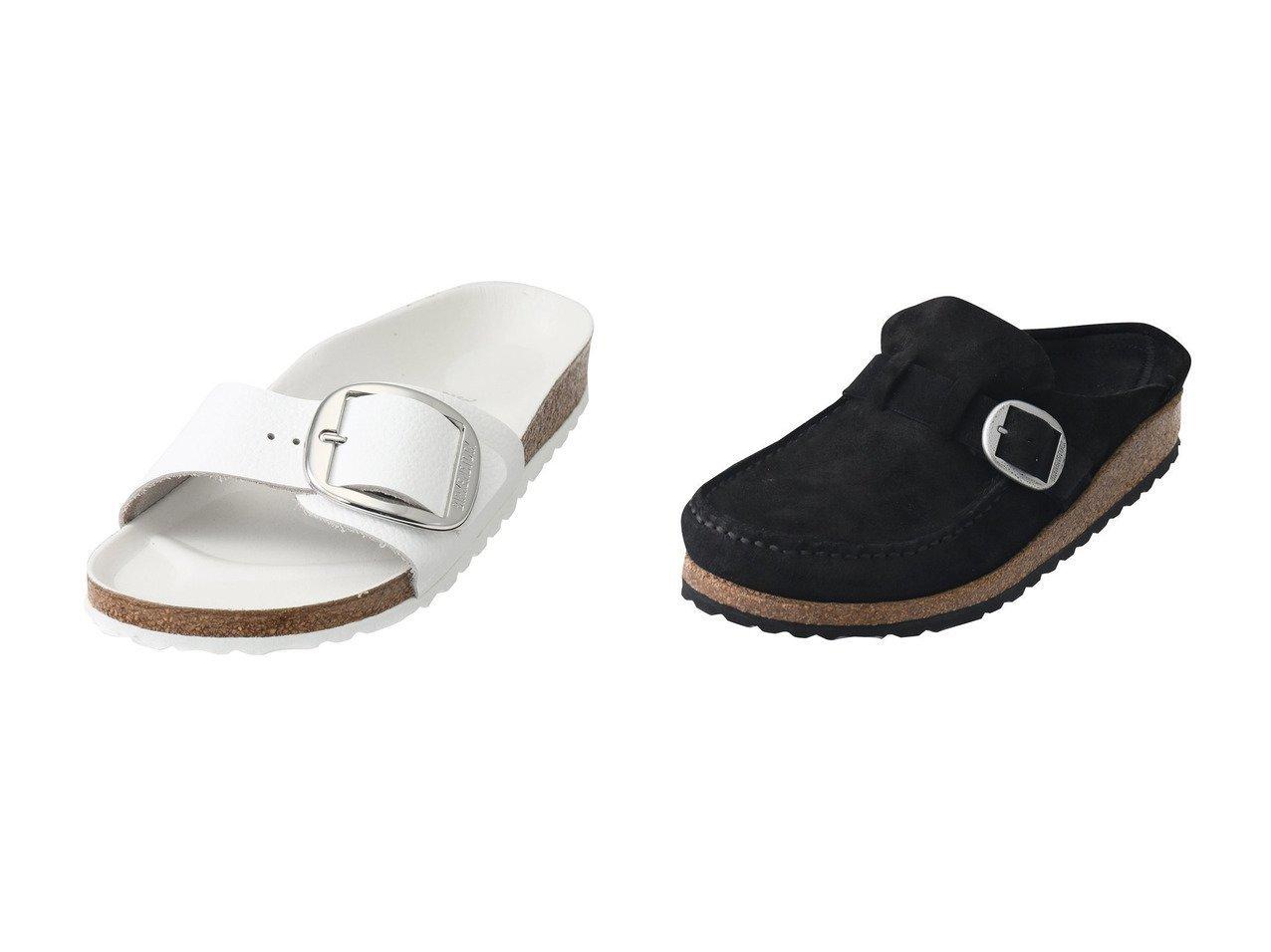 【JET/ジェット】の【BIRKENSTOCK】BUCKLEYサンダル&【BIRKENSTOCK】Madrid Big Buckleサンダル 【シューズ・靴】おすすめ!人気、トレンド・レディースファッションの通販   おすすめで人気の流行・トレンド、ファッションの通販商品 インテリア・家具・メンズファッション・キッズファッション・レディースファッション・服の通販 founy(ファニー) https://founy.com/ ファッション Fashion レディースファッション WOMEN サンダル シルバー  ID:crp329100000052226