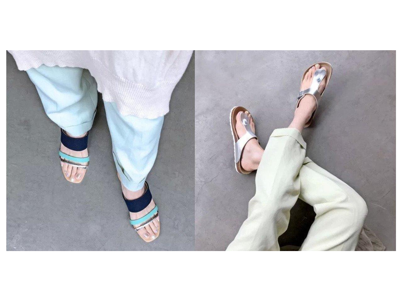 【enchanted/エンチャンテッド】のバイカラーストラップウエッジミュールサンダル&トングバックルフラットサンダル 【シューズ・靴】おすすめ!人気、トレンド・レディースファッションの通販   おすすめで人気の流行・トレンド、ファッションの通販商品 インテリア・家具・メンズファッション・キッズファッション・レディースファッション・服の通販 founy(ファニー) https://founy.com/ ファッション Fashion レディースファッション WOMEN バッグ Bag おすすめ Recommend コンビ サンダル シューズ シンプル フィット  ID:crp329100000052227