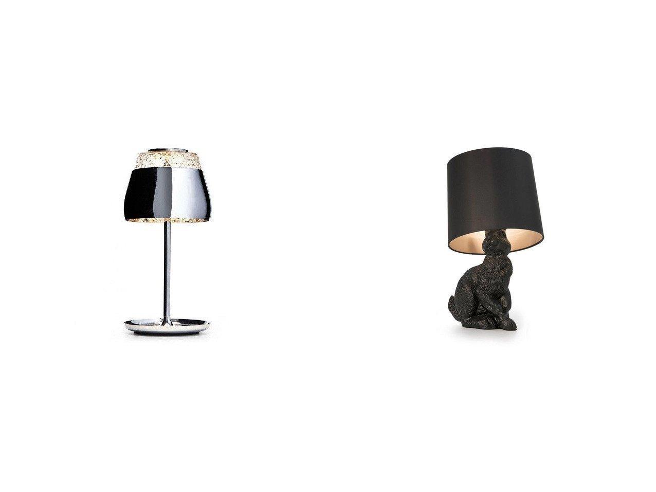 【moooi/モーイ】のバレンタイン テーブルランプ LED(クローム)&ラビット ランプ 【FURNITURE ライト・照明】おすすめ!人気、インテリア雑貨・家具の通販 おすすめで人気の流行・トレンド、ファッションの通販商品 インテリア・家具・メンズファッション・キッズファッション・レディースファッション・服の通販 founy(ファニー) https://founy.com/ 送料無料 Free Shipping ガラス クリスタル テーブル パターン フロント リアル ホーム・キャンプ・アウトドア Home,Garden,Outdoor,Camping Gear 家具・インテリア Furniture ライト・照明 Lighting & Light Fixtures  ID:crp329100000052352