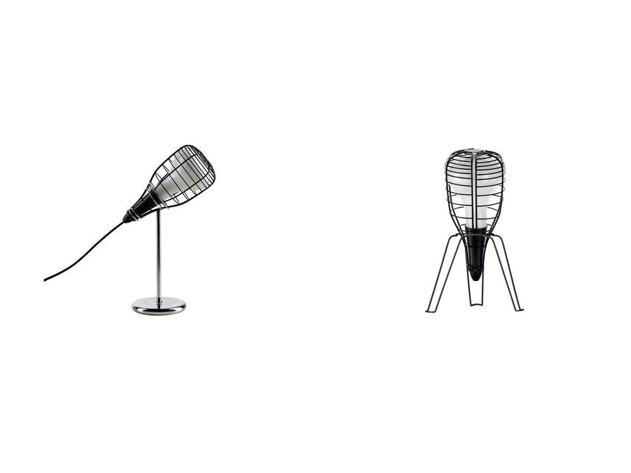【DIESEL with FOSCARINI/ディーゼル ウィズ フォスカリーニ】のケージ マイク テーブルライト&ケージ ロケット テーブルライト 【FURNITURE ライト・照明】おすすめ!人気、インテリア雑貨・家具の通販 おすすめで人気の流行・トレンド、ファッションの通販商品 インテリア・家具・メンズファッション・キッズファッション・レディースファッション・服の通販 founy(ファニー) https://founy.com/ 送料無料 Free Shipping スタイリッシュ スタンド テーブル ホーム・キャンプ・アウトドア Home,Garden,Outdoor,Camping Gear 家具・インテリア Furniture ライト・照明 Lighting & Light Fixtures デスクライト・テーブルライト  ID:crp329100000052356