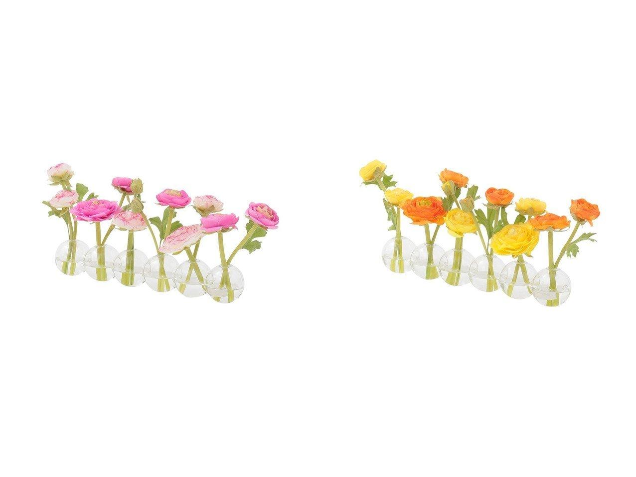 【EMILIO ROBBA/エミリオロバ】のラナンキュラス #101696 【お家時間 花瓶・フラワーベース】おすすめ!人気、インテリア雑貨・家具の通販 おすすめで人気の流行・トレンド、ファッションの通販商品 インテリア・家具・メンズファッション・キッズファッション・レディースファッション・服の通販 founy(ファニー) https://founy.com/ 送料無料 Free Shipping コレクション シリコン  ID:crp329100000052383