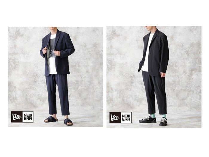 【nano universe / MEN/ナノ ユニバース】のNewera Special ダメリーノセットアップ 【MEN】おすすめ!人気トレンド・男性、メンズファッションの通販 おすすめ人気トレンドファッション通販アイテム インテリア・キッズ・メンズ・レディースファッション・服の通販 founy(ファニー) https://founy.com/ ファッション Fashion メンズファッション MEN セットアップ Setup/Men インナー キャップ シェイプ ジャケット スタンダード ストレッチ スペシャル スーツ セットアップ 定番 Standard フォーマル |ID:crp329100000052405