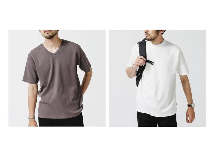 【nano universe / MEN/ナノ ユニバース】の《イヤな臭いを軽減》Anti Smell VネックTシャツ 半袖&《イヤな臭いを軽減》Anti Smell モックネックTシャツ 半袖 【MEN】おすすめ!人気トレンド・男性、メンズファッションの通販 おすすめ人気トレンドファッション通販アイテム 人気、トレンドファッション・服の通販 founy(ファニー) ファッション Fashion メンズファッション MEN トップス・カットソー Tops/Tshirt/Men シャツ Shirts コンパクト 抗菌 ベーシック 半袖 モックネック 夏 Summer  ID:crp329100000052413