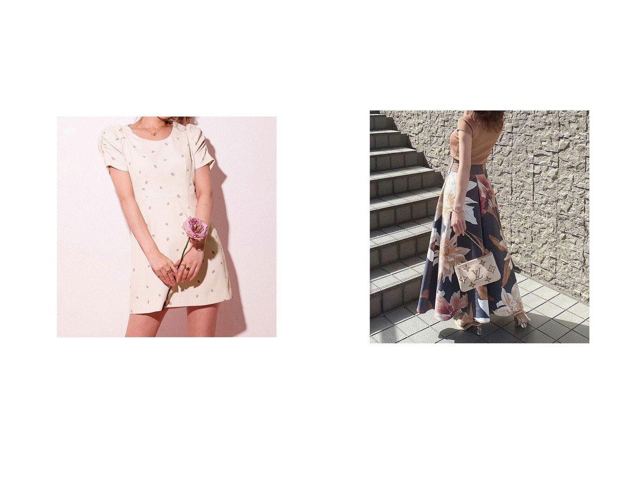 【Darich/ダーリッチ】のリップモチーフミニワンピース&【eimy istoire/エイミーイストワール】のRamona flower ボリュームスカート おすすめ!人気トレンド・レディースファッション通販 おすすめで人気の流行・トレンド、ファッションの通販商品 インテリア・家具・メンズファッション・キッズファッション・レディースファッション・服の通販 founy(ファニー) https://founy.com/ ファッション Fashion レディースファッション WOMEN スカート Skirt ワンピース Dress 2021年 2021 2021春夏・S/S SS/Spring/Summer/2021 S/S・春夏 SS・Spring/Summer ショルダー 夏 Summer 春 Spring |ID:crp329100000052489