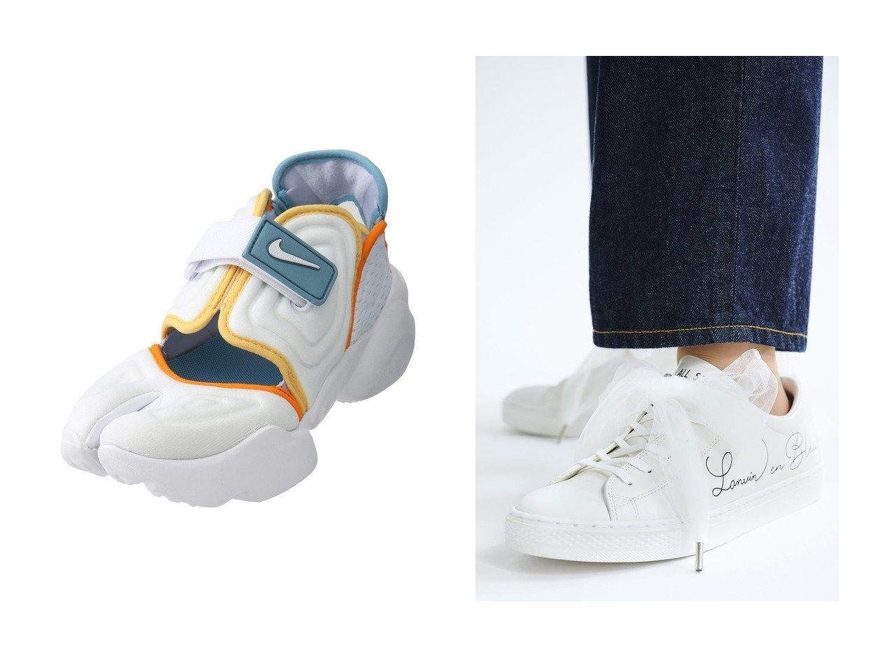 【ROSE BUD/ローズバッド】の【NIKE】ナイキ アクア リフト&【LANVIN en Bleu/ランバン オン ブルー】のコンバースコラボスニーカー 【シューズ・靴】おすすめ!人気、トレンド・レディースファッションの通販 おすすめで人気の流行・トレンド、ファッションの通販商品 インテリア・家具・メンズファッション・キッズファッション・レディースファッション・服の通販 founy(ファニー) https://founy.com/ ファッション Fashion レディースファッション WOMEN ジップ スニーカー フィット ラップ 別注  ID:crp329100000052532