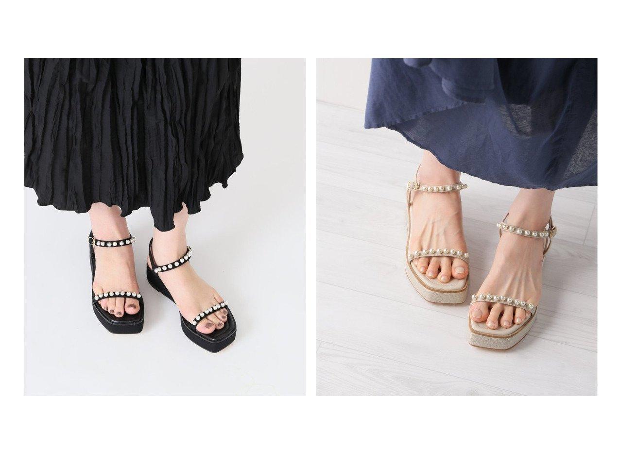 【Le Talon/ル タロン】の4cmパールプラットサンダル 【シューズ・靴】おすすめ!人気、トレンド・レディースファッションの通販 おすすめで人気の流行・トレンド、ファッションの通販商品 インテリア・家具・メンズファッション・キッズファッション・レディースファッション・服の通販 founy(ファニー) https://founy.com/ ファッション Fashion レディースファッション WOMEN 2021年 2021 2021春夏・S/S SS/Spring/Summer/2021 S/S・春夏 SS・Spring/Summer おすすめ Recommend サンダル シューズ シンプル パール 再入荷 Restock/Back in Stock/Re Arrival 夏 Summer  ID:crp329100000052533