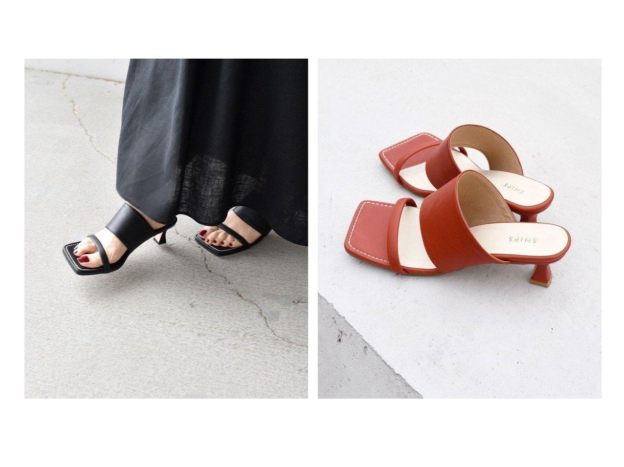 【SHIPS/シップス フォー ウィメン】のスクエアヒールサンダル 【シューズ・靴】おすすめ!人気、トレンド・レディースファッションの通販 おすすめで人気の流行・トレンド、ファッションの通販商品 インテリア・家具・メンズファッション・キッズファッション・レディースファッション・服の通販 founy(ファニー) https://founy.com/ ファッション Fashion レディースファッション WOMEN インソール クッション サンダル シューズ トレンド マキシ ラップ 再入荷 Restock/Back in Stock/Re Arrival  ID:crp329100000052534