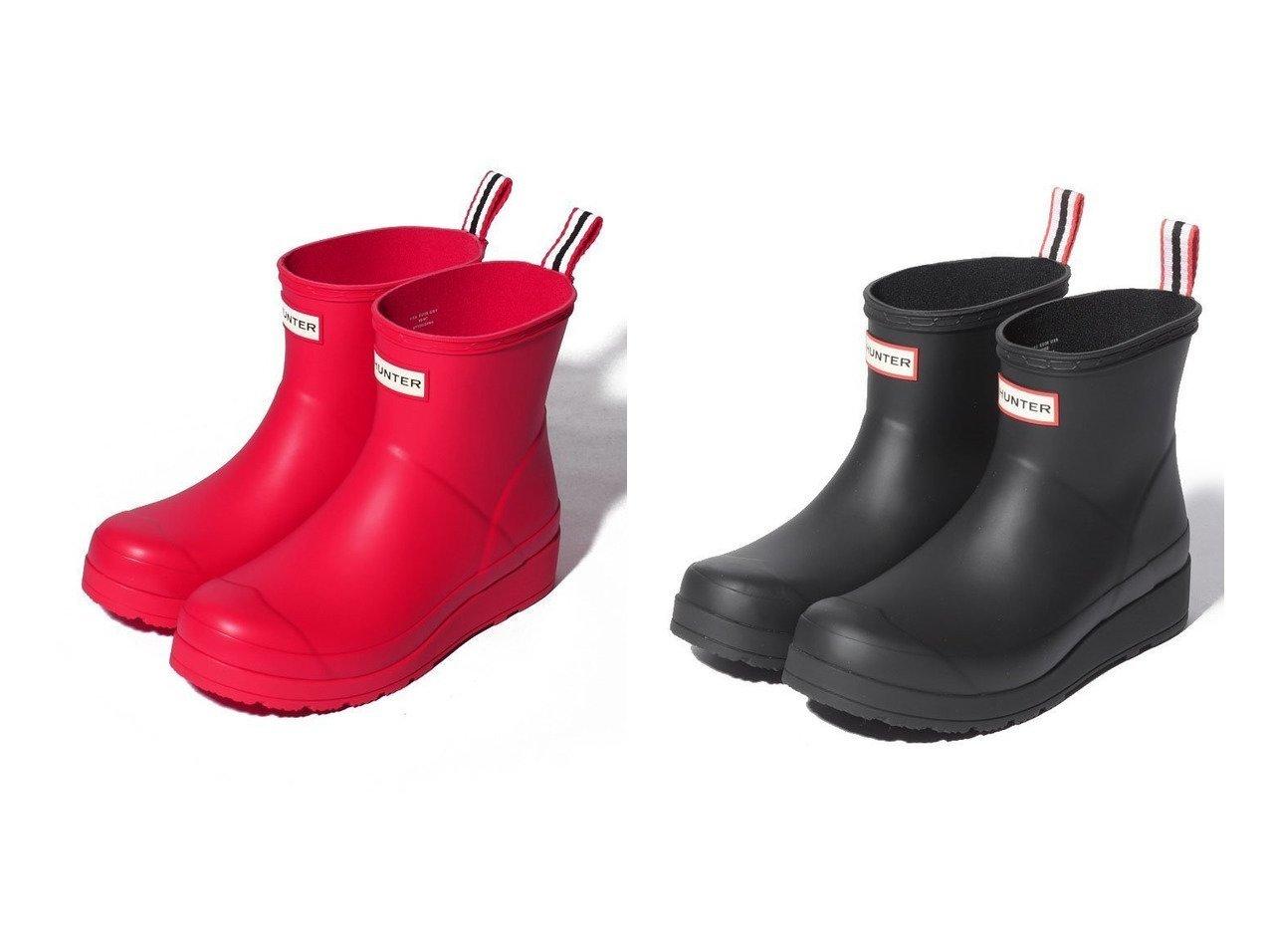 【HUNTER/ハンター】のORIGINAL PLAY BOOT SHORT 【シューズ・靴】おすすめ!人気、トレンド・レディースファッションの通販 おすすめで人気の流行・トレンド、ファッションの通販商品 インテリア・家具・メンズファッション・キッズファッション・レディースファッション・服の通販 founy(ファニー) https://founy.com/ ファッション Fashion レディースファッション WOMEN NEW・新作・新着・新入荷 New Arrivals シューズ ショート シンプル フロント ベーシック ボックス ラバー 定番 Standard  ID:crp329100000052537