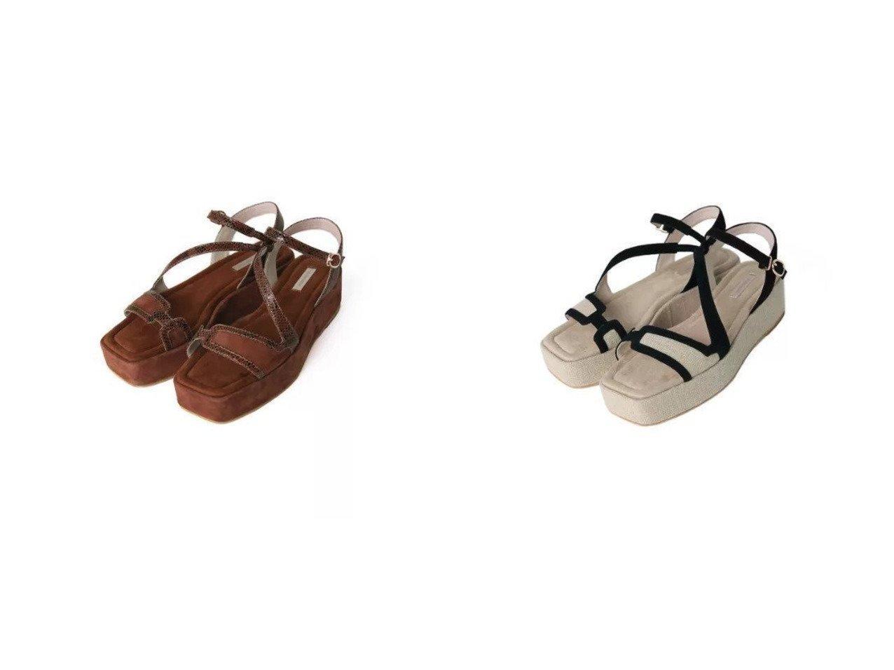 【Au BANNISTER/オゥ バニスター】のカットワーク厚底サンダル 【シューズ・靴】おすすめ!人気、トレンド・レディースファッションの通販 おすすめで人気の流行・トレンド、ファッションの通販商品 インテリア・家具・メンズファッション・キッズファッション・レディースファッション・服の通販 founy(ファニー) https://founy.com/ ファッション Fashion レディースファッション WOMEN おすすめ Recommend サンダル シューズ ラップ ワーク 厚底  ID:crp329100000052541