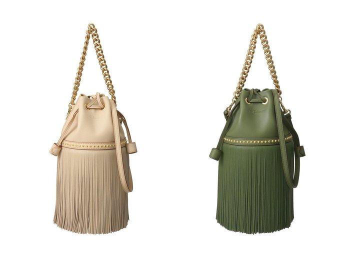【J&M DAVIDSON/ジェイアンドエム デヴィッドソン】のFRINGE CARNIVAL MINI 【バッグ・鞄】おすすめ!人気、トレンド・レディースファッションの通販 おすすめ人気トレンドファッション通販アイテム 人気、トレンドファッション・服の通販 founy(ファニー) ファッション Fashion レディースファッション WOMEN 2021年 2021 2021-2022秋冬・A/W AW・Autumn/Winter・FW・Fall-Winter・2021-2022 A/W・秋冬 AW・Autumn/Winter・FW・Fall-Winter スタッズ チェーン ハンドバッグ バケツ フリンジ 巾着 |ID:crp329100000052551