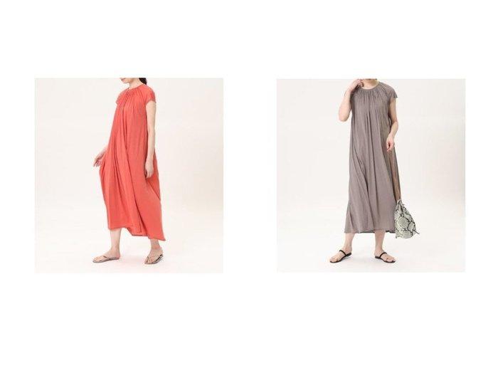【7-IDconcept/セブンアイディコンセプト】のギャザーマキシワンピース 【ワンピース・ドレス】おすすめ!人気、トレンド・レディースファッションの通販 おすすめ人気トレンドファッション通販アイテム 人気、トレンドファッション・服の通販 founy(ファニー)  ファッション Fashion レディースファッション WOMEN ワンピース Dress マキシワンピース Maxi Dress ギャザー ポケット マキシ 夏 Summer |ID:crp329100000052604