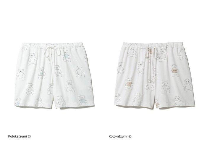 【gelato pique/ジェラート ピケ】の【kotoka izumi】ベアモチーフショートパンツ 【パンツ】おすすめ!人気、トレンド・レディースファッションの通販 おすすめ人気トレンドファッション通販アイテム インテリア・キッズ・メンズ・レディースファッション・服の通販 founy(ファニー) https://founy.com/ ファッション Fashion レディースファッション WOMEN パンツ Pants ハーフ / ショートパンツ Short Pants イラスト インナー 抗菌 ショート スペシャル セットアップ 人気 |ID:crp329100000052762