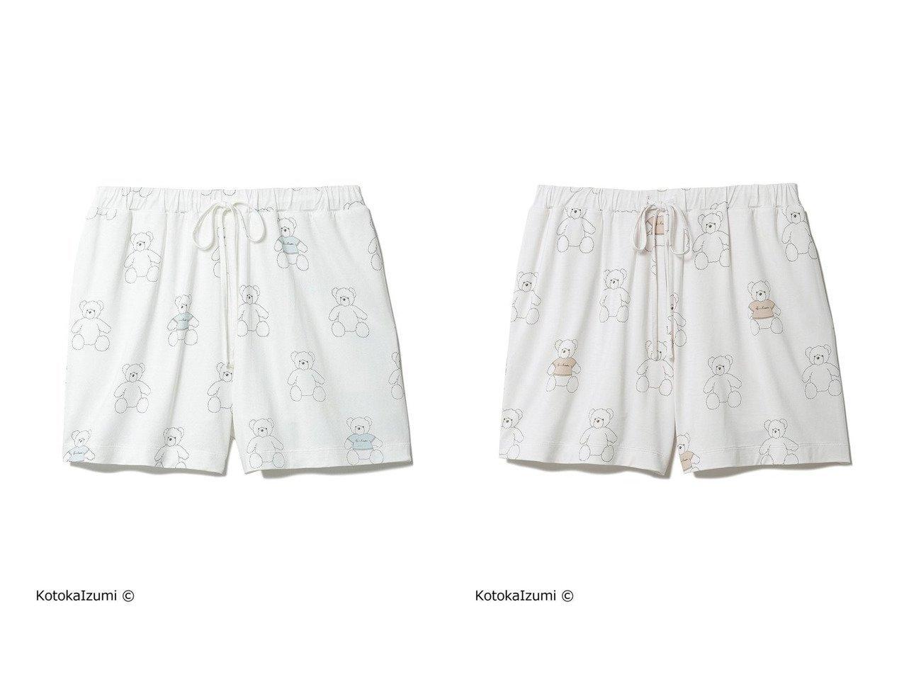 【gelato pique/ジェラート ピケ】の【kotoka izumi】ベアモチーフショートパンツ 【パンツ】おすすめ!人気、トレンド・レディースファッションの通販 おすすめで人気の流行・トレンド、ファッションの通販商品 インテリア・家具・メンズファッション・キッズファッション・レディースファッション・服の通販 founy(ファニー) https://founy.com/ ファッション Fashion レディースファッション WOMEN パンツ Pants ハーフ / ショートパンツ Short Pants イラスト インナー 抗菌 ショート スペシャル セットアップ 人気 |ID:crp329100000052762