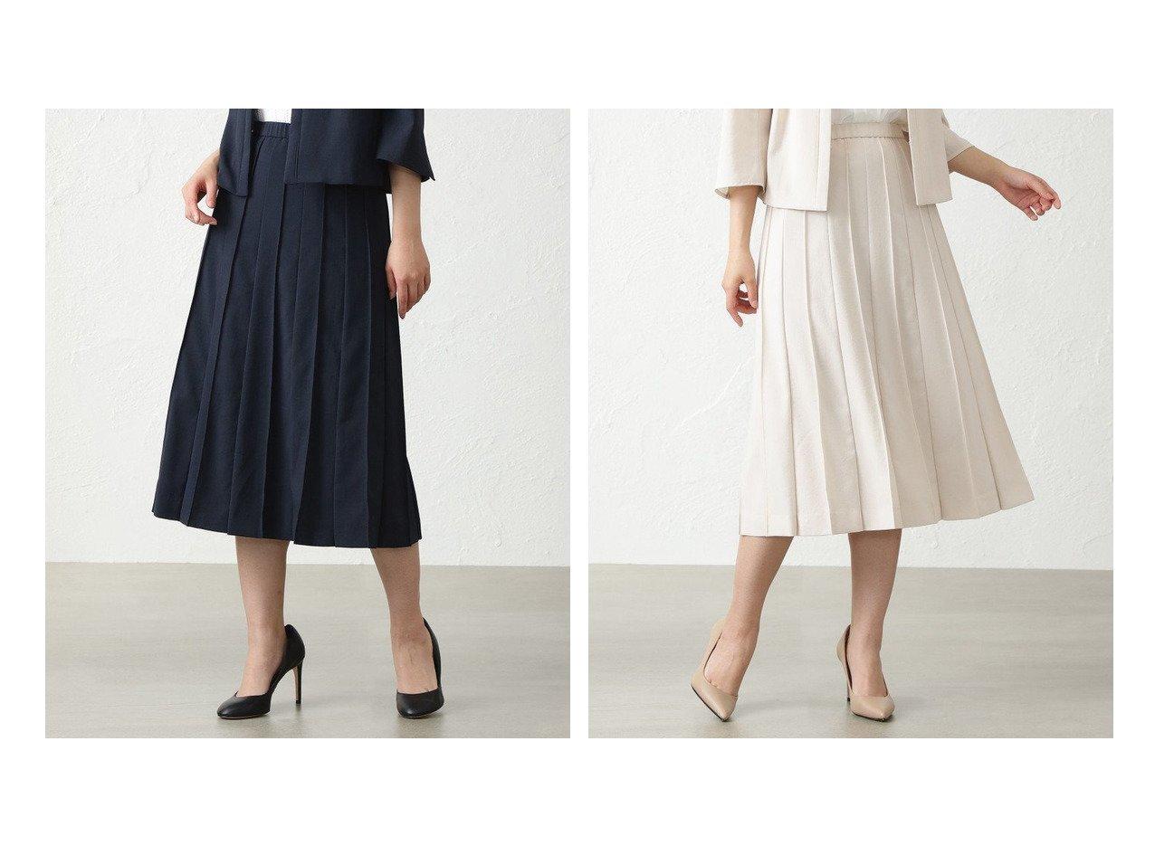 【AMACA/アマカ】のドライマスターフレアースカート 【スカート】おすすめ!人気トレンド・レディースファッション通販 おすすめで人気の流行・トレンド、ファッションの通販商品 インテリア・家具・メンズファッション・キッズファッション・レディースファッション・服の通販 founy(ファニー) https://founy.com/ ファッション Fashion レディースファッション WOMEN スカート Skirt Aライン/フレアスカート Flared A-Line Skirts フレア プリーツ  ID:crp329100000052934