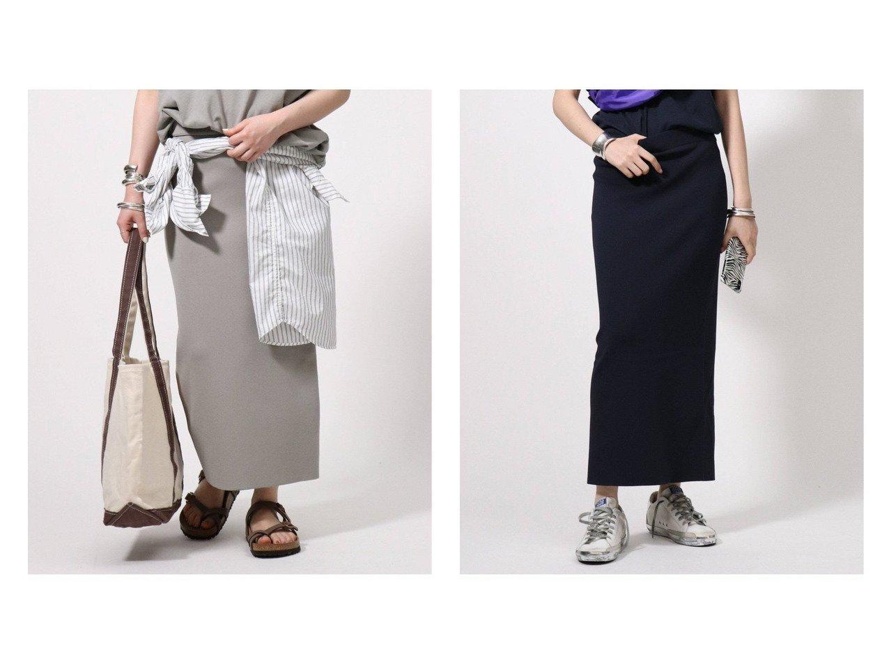 【AP STUDIO/エーピーストゥディオ】の(ツイカ)スムースタイトスカート 【スカート】おすすめ!人気トレンド・レディースファッション通販 おすすめで人気の流行・トレンド、ファッションの通販商品 インテリア・家具・メンズファッション・キッズファッション・レディースファッション・服の通販 founy(ファニー) https://founy.com/ ファッション Fashion レディースファッション WOMEN スカート Skirt NEW・新作・新着・新入荷 New Arrivals おすすめ Recommend カットソー フィット  ID:crp329100000052939
