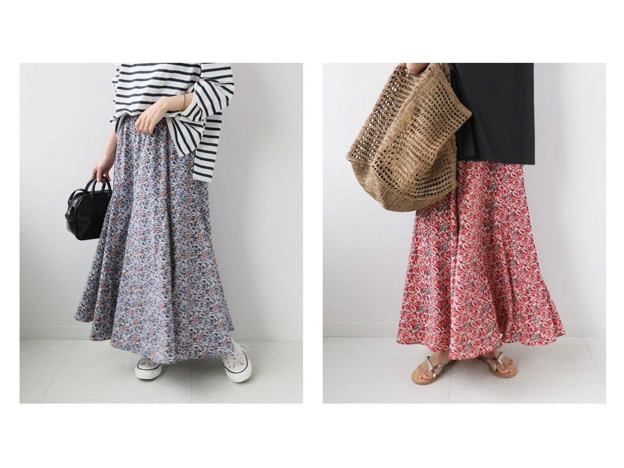 【JOURNAL STANDARD relume/ジャーナルスタンダード レリューム】のフラワープリントマーメイドスカート 【スカート】おすすめ!人気トレンド・レディースファッション通販 おすすめで人気の流行・トレンド、ファッションの通販商品 インテリア・家具・メンズファッション・キッズファッション・レディースファッション・服の通販 founy(ファニー) https://founy.com/ ファッション Fashion レディースファッション WOMEN スカート Skirt ロングスカート Long Skirt 2021年 2021 2021春夏・S/S SS/Spring/Summer/2021 S/S・春夏 SS・Spring/Summer カットソー シンプル フラワー マーメイド ロング 夏 Summer 春 Spring  ID:crp329100000052941