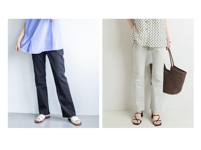 【IENA/イエナ】のサマーカラーチノスリムセミフレアパンツ 【パンツ】おすすめ!人気、トレンド・レディースファッションの通販 おすすめ人気トレンドファッション通販アイテム 人気、トレンドファッション・服の通販 founy(ファニー) ファッション Fashion レディースファッション WOMEN パンツ Pants 2021年 2021 2021春夏・S/S SS/Spring/Summer/2021 S/S・春夏 SS・Spring/Summer ストレッチ スリム デニム ビビッド フレア ユーズド 夏 Summer 春 Spring |ID:crp329100000053113