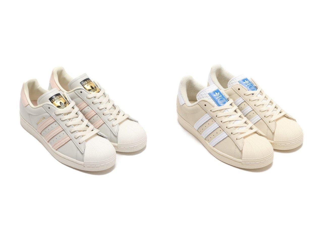 【adidas/アディダス】のadidas SUPERSTAR&adidas SUPERSTAR 【シューズ・靴】おすすめ!人気、トレンド・レディースファッションの通販 おすすめで人気の流行・トレンド、ファッションの通販商品 インテリア・家具・メンズファッション・キッズファッション・レディースファッション・服の通販 founy(ファニー) https://founy.com/ ファッション Fashion レディースファッション WOMEN NEW・新作・新着・新入荷 New Arrivals シューズ スニーカー スリッポン |ID:crp329100000053132