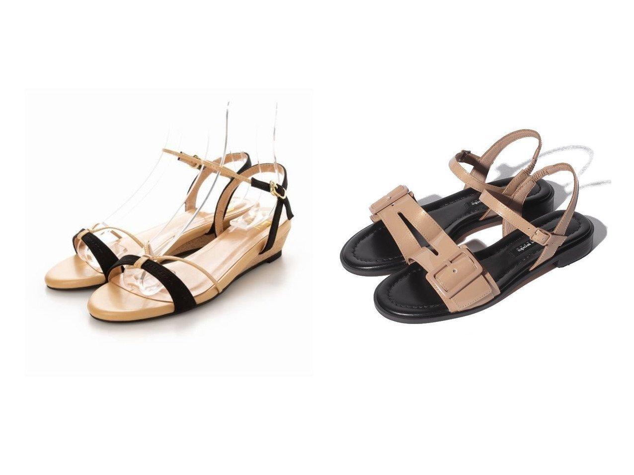 【RABOKIGOSHI works/ラボキゴシ ワークス】の【RABOKIGOSHI works】フラットサンダル 12342&【Fin/フィン】のウエッジソールストラップサンダル【低反発スポンジ入り】 【シューズ・靴】おすすめ!人気、トレンド・レディースファッションの通販 おすすめで人気の流行・トレンド、ファッションの通販商品 インテリア・家具・メンズファッション・キッズファッション・レディースファッション・服の通販 founy(ファニー) https://founy.com/ ファッション Fashion レディースファッション WOMEN エナメル サンダル シューズ フラット モダン 夏 Summer クッション コンビ デニム トレンド フェイクスエード フェイクレザー フレア ラップ ワイド NEW・新作・新着・新入荷 New Arrivals |ID:crp329100000053137