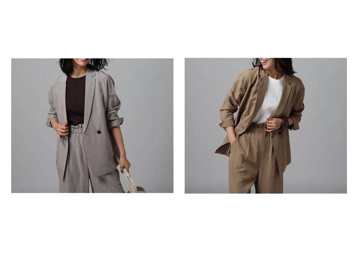 【UNTITLED/アンタイトル】のレーヨン混ライトジャケット 【アウター】おすすめ!人気、トレンド・レディースファッションの通販 おすすめ人気トレンドファッション通販アイテム 人気、トレンドファッション・服の通販 founy(ファニー)  ファッション Fashion レディースファッション WOMEN アウター Coat Outerwear ジャケット Jackets 2020年 2020 2020春夏・S/S SS・Spring/Summer/2020 S/S・春夏 SS・Spring/Summer シンプル ジャケット ダブル 夏 Summer 春 Spring 秋 Autumn/Fall |ID:crp329100000053146