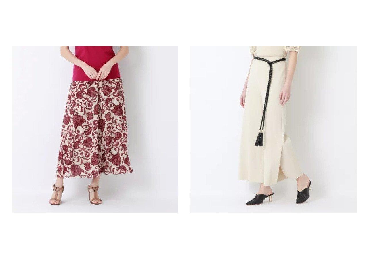 【EPOCA/エポカ】のオリエンタルプリント ワイドパンツ&【La maglia estate】セミワイド パンツ おすすめ!人気トレンド・レディースファッション通販 おすすめで人気の流行・トレンド、ファッションの通販商品 インテリア・家具・メンズファッション・キッズファッション・レディースファッション・服の通販 founy(ファニー) https://founy.com/ ファッション Fashion レディースファッション WOMEN パンツ Pants 春 Spring スリット ワイド おすすめ Recommend 夏 Summer エレガント オリエンタル カットソー プリント |ID:crp329100000053292