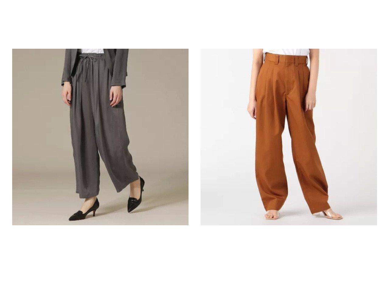 【Shinzone/シンゾーン】のトムボーイ&【MACKINTOSH LONDON/マッキントッシュ ロンドン】のキュプラツイルワイドパンツ 【パンツ】おすすめ!人気、トレンド・レディースファッションの通販 おすすめで人気の流行・トレンド、ファッションの通販商品 インテリア・家具・メンズファッション・キッズファッション・レディースファッション・服の通販 founy(ファニー) https://founy.com/ ファッション Fashion レディースファッション WOMEN パンツ Pants 洗える 秋 Autumn/Fall ウォッシャブル ドレープ ラグジュアリー リラックス ワイド 夏 Summer 春 Spring |ID:crp329100000053318