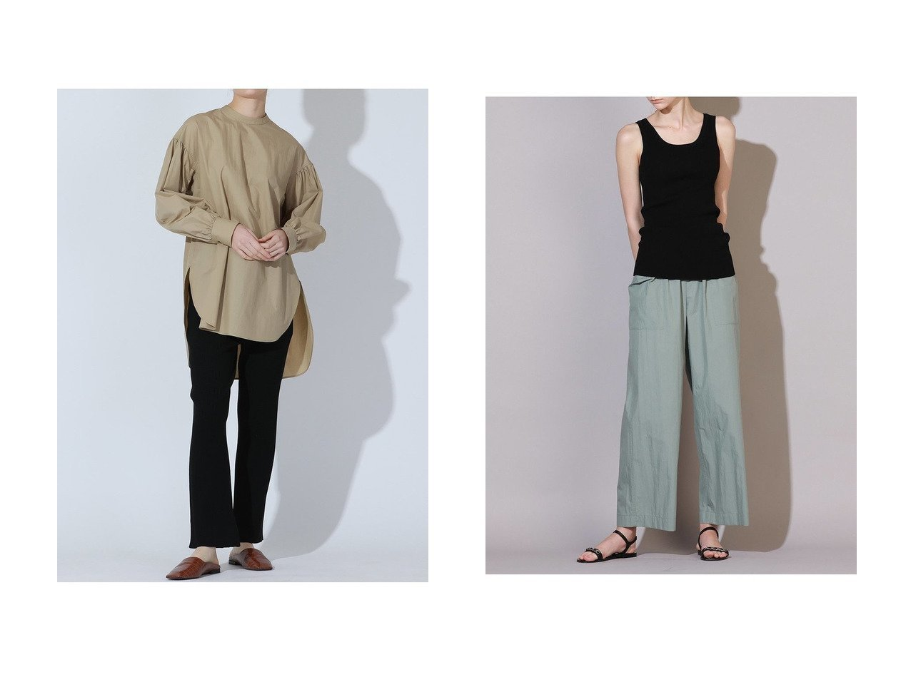 【ESSEN LAUTREAMONT/エッセン ロートレアモン】のメンナイロンダンプパンツ&ニットパンツ 【パンツ】おすすめ!人気、トレンド・レディースファッションの通販 おすすめで人気の流行・トレンド、ファッションの通販商品 インテリア・家具・メンズファッション・キッズファッション・レディースファッション・服の通販 founy(ファニー) https://founy.com/ ファッション Fashion レディースファッション WOMEN パンツ Pants おすすめ Recommend シルク セットアップ ポケット 再入荷 Restock/Back in Stock/Re Arrival カーディガン スリット |ID:crp329100000053375