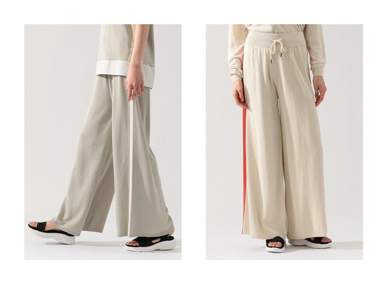 【ECOALF/エコアルフ】のBLACK ラインニットパンツ BLACK PANTS WOMAN 【パンツ】おすすめ!人気、トレンド・レディースファッションの通販 おすすめで人気の流行・トレンド、ファッションの通販商品 インテリア・家具・メンズファッション・キッズファッション・レディースファッション・服の通販 founy(ファニー) https://founy.com/ ファッション Fashion レディースファッション WOMEN パンツ Pants ワイド |ID:crp329100000053413