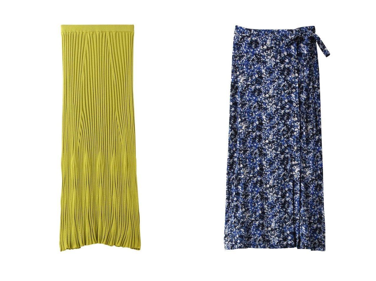 【three dots/スリー ドッツ】のスカート&スカート 【スカート】おすすめ!人気、トレンド・レディースファッションの通販 おすすめで人気の流行・トレンド、ファッションの通販商品 インテリア・家具・メンズファッション・キッズファッション・レディースファッション・服の通販 founy(ファニー) https://founy.com/ ファッション Fashion レディースファッション WOMEN スカート Skirt おすすめ Recommend セットアップ フィット フェミニン プリント ラップ リラックス シルク シンプル ロング |ID:crp329100000053489