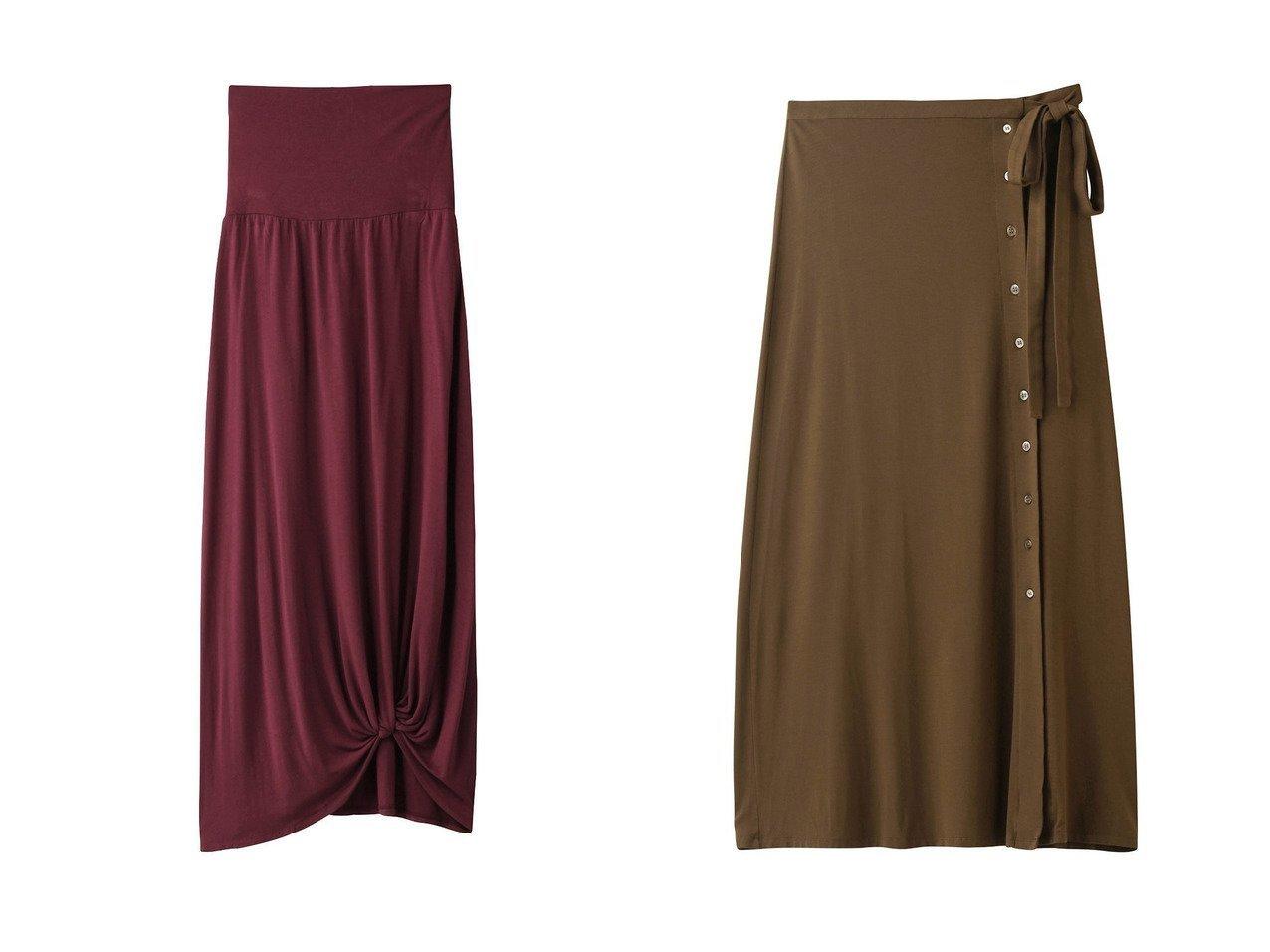 【three dots/スリー ドッツ】のスカート&スカート 【スカート】おすすめ!人気、トレンド・レディースファッションの通販 おすすめで人気の流行・トレンド、ファッションの通販商品 インテリア・家具・メンズファッション・キッズファッション・レディースファッション・服の通販 founy(ファニー) https://founy.com/ ファッション Fashion レディースファッション WOMEN スカート Skirt リボン リラックス とろみ ツイスト ドレープ フレア ロング |ID:crp329100000053491