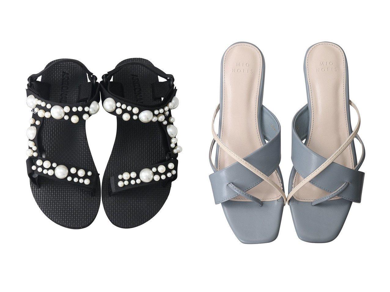 【martinique/マルティニーク】の【ARIZONA LOVE】TREKKY PEARL サンダル&【Esmeralda/エスメラルダ】の【MIO NOTIS】デザインフラットサンダル 【シューズ・靴】おすすめ!人気、トレンド・レディースファッションの通販 おすすめで人気の流行・トレンド、ファッションの通販商品 インテリア・家具・メンズファッション・キッズファッション・レディースファッション・服の通販 founy(ファニー) https://founy.com/ ファッション Fashion レディースファッション WOMEN サンダル フラット S/S・春夏 SS・Spring/Summer クッション パール フィット 夏 Summer 春 Spring |ID:crp329100000053498