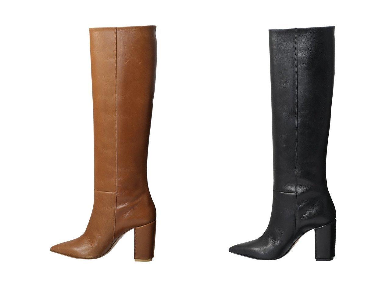 【Pippichic/ピッピシック】のポインテッドトゥロングブーツ 【シューズ・靴】おすすめ!人気、トレンド・レディースファッションの通販 おすすめで人気の流行・トレンド、ファッションの通販商品 インテリア・家具・メンズファッション・キッズファッション・レディースファッション・服の通販 founy(ファニー) https://founy.com/ ファッション Fashion レディースファッション WOMEN 2021年 2021 2021-2022秋冬・A/W AW・Autumn/Winter・FW・Fall-Winter・2021-2022 A/W・秋冬 AW・Autumn/Winter・FW・Fall-Winter スマート ロング |ID:crp329100000053501