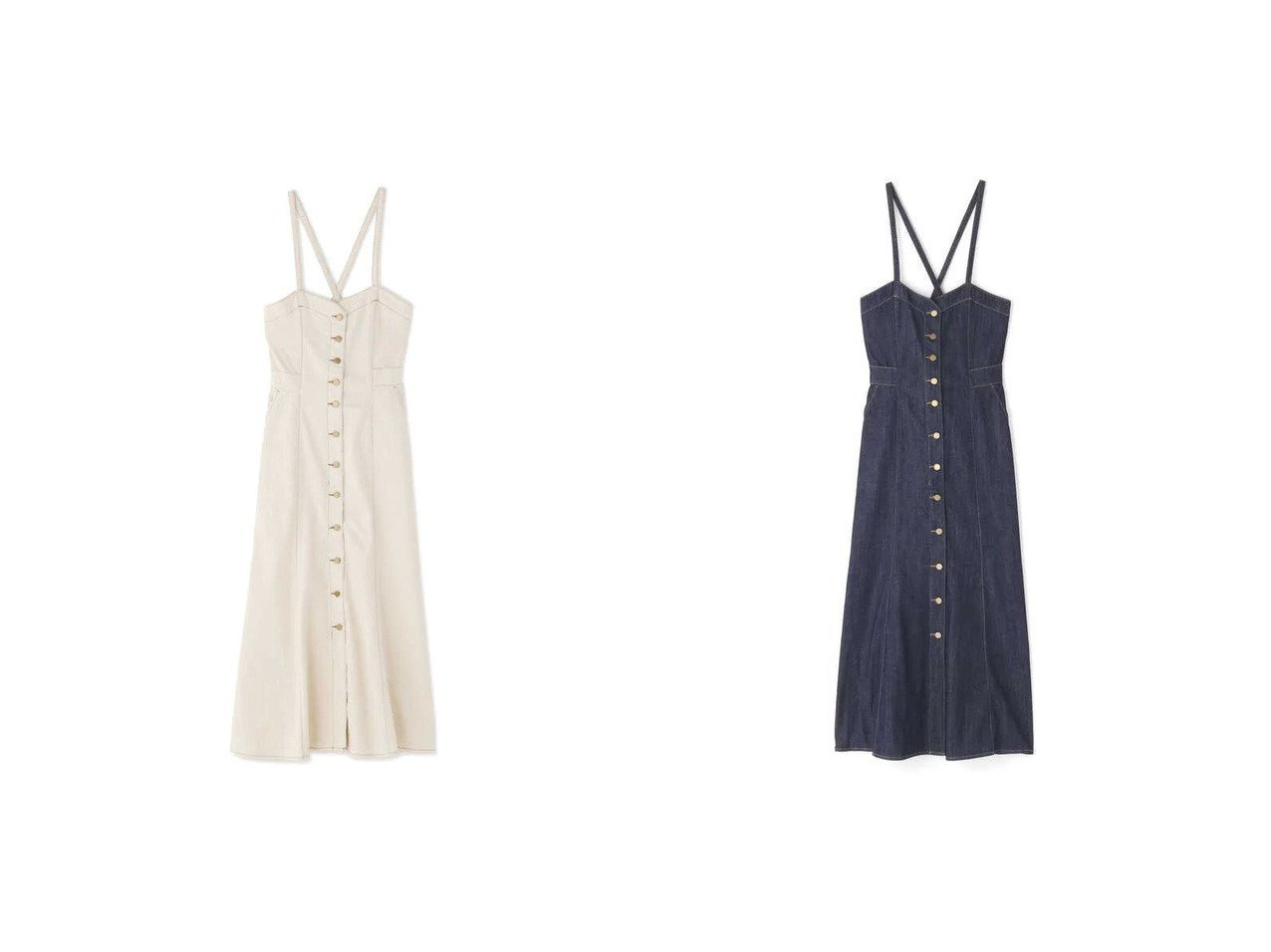 【FREE'S MART/フリーズマート】の《Sシリーズ対応商品》バックリボンマーメイドデニムジャンパースカート 【プチプライス・低価格】おすすめ!人気トレンド・レディースファッション通販 おすすめで人気の流行・トレンド、ファッションの通販商品 インテリア・家具・メンズファッション・キッズファッション・レディースファッション・服の通販 founy(ファニー) https://founy.com/ ファッション Fashion レディースファッション WOMEN スカート Skirt デニム マーメイド レース |ID:crp329100000053672
