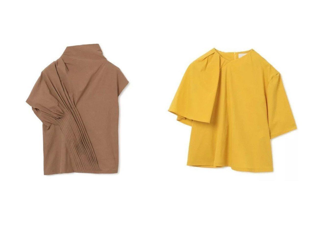 【AKIRANAKA/アキラナカ】のJo asymmetry drape T&Pintuck asymmetry sleeves pullover 【トップス・カットソー】おすすめ!人気、トレンド・レディースファッションの通販   おすすめで人気の流行・トレンド、ファッションの通販商品 インテリア・家具・メンズファッション・キッズファッション・レディースファッション・服の通販 founy(ファニー) https://founy.com/ ファッション Fashion レディースファッション WOMEN トップス・カットソー Tops/Tshirt シャツ/ブラウス Shirts/Blouses ロング / Tシャツ T-Shirts カットソー Cut and Sewn プルオーバー Pullover 2021年 2021 2021-2022秋冬・A/W AW・Autumn/Winter・FW・Fall-Winter・2021-2022 A/W・秋冬 AW・Autumn/Winter・FW・Fall-Winter アシンメトリー エレガント カットソー ドレープ 半袖 洗える スタイリッシュ ハイネック フォルム  ID:crp329100000053751