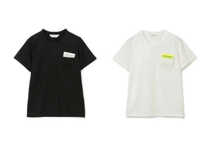 【beautiful people/ビューティフル ピープル】のsuvin royal jersey big QOLtag T-shirts 【トップス・カットソー】おすすめ!人気、トレンド・レディースファッションの通販   おすすめ人気トレンドファッション通販アイテム 人気、トレンドファッション・服の通販 founy(ファニー) ファッション Fashion レディースファッション WOMEN トップス・カットソー Tops/Tshirt シャツ/ブラウス Shirts/Blouses ロング / Tシャツ T-Shirts カットソー Cut and Sewn 2021年 2021 2021-2022秋冬・A/W AW・Autumn/Winter・FW・Fall-Winter・2021-2022 A/W・秋冬 AW・Autumn/Winter・FW・Fall-Winter カットソー コンパクト スポーティ ポケット 半袖 洗える |ID:crp329100000053752