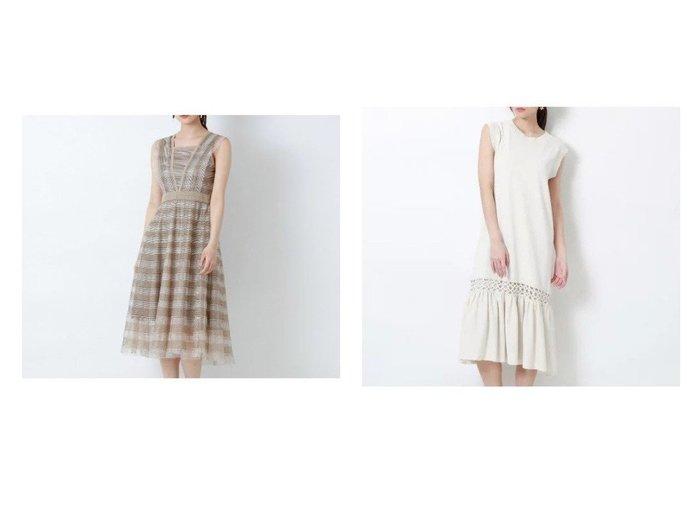【EPOCA/エポカ】のトーションレース ドレス&コットンリネンフレアドレス 【ワンピース・ドレス】おすすめ!人気、トレンド・レディースファッションの通販 おすすめ人気トレンドファッション通販アイテム 人気、トレンドファッション・服の通販 founy(ファニー)  ファッション Fashion レディースファッション WOMEN ワンピース Dress ドレス Party Dresses 春 Spring ドレス フォーマル レース おすすめ Recommend 夏 Summer ストレッチ フレア ロング 定番 Standard |ID:crp329100000053769
