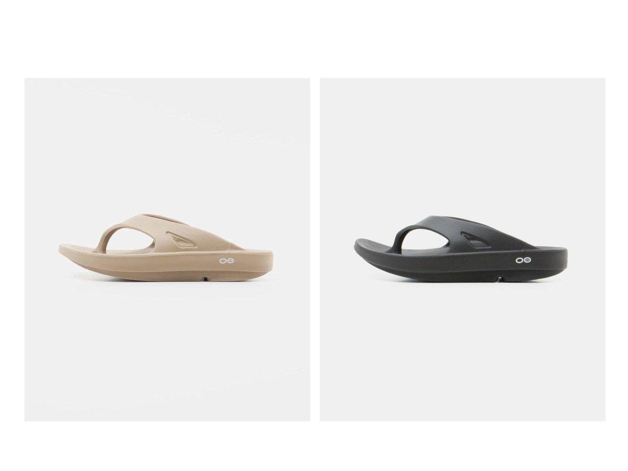 【URBS / URBAN RESEARCH/ユーアールビーエス】のOOFOS Ooriginal 【シューズ・靴】おすすめ!人気、トレンド・レディースファッションの通販  おすすめで人気の流行・トレンド、ファッションの通販商品 インテリア・家具・メンズファッション・キッズファッション・レディースファッション・服の通販 founy(ファニー) https://founy.com/ ファッション Fashion レディースファッション WOMEN サンダル シューズ スポーツ トレーナー ミュール 2021年 2021 S/S・春夏 SS・Spring/Summer 2021春夏・S/S SS/Spring/Summer/2021 NEW・新作・新着・新入荷 New Arrivals |ID:crp329100000053895