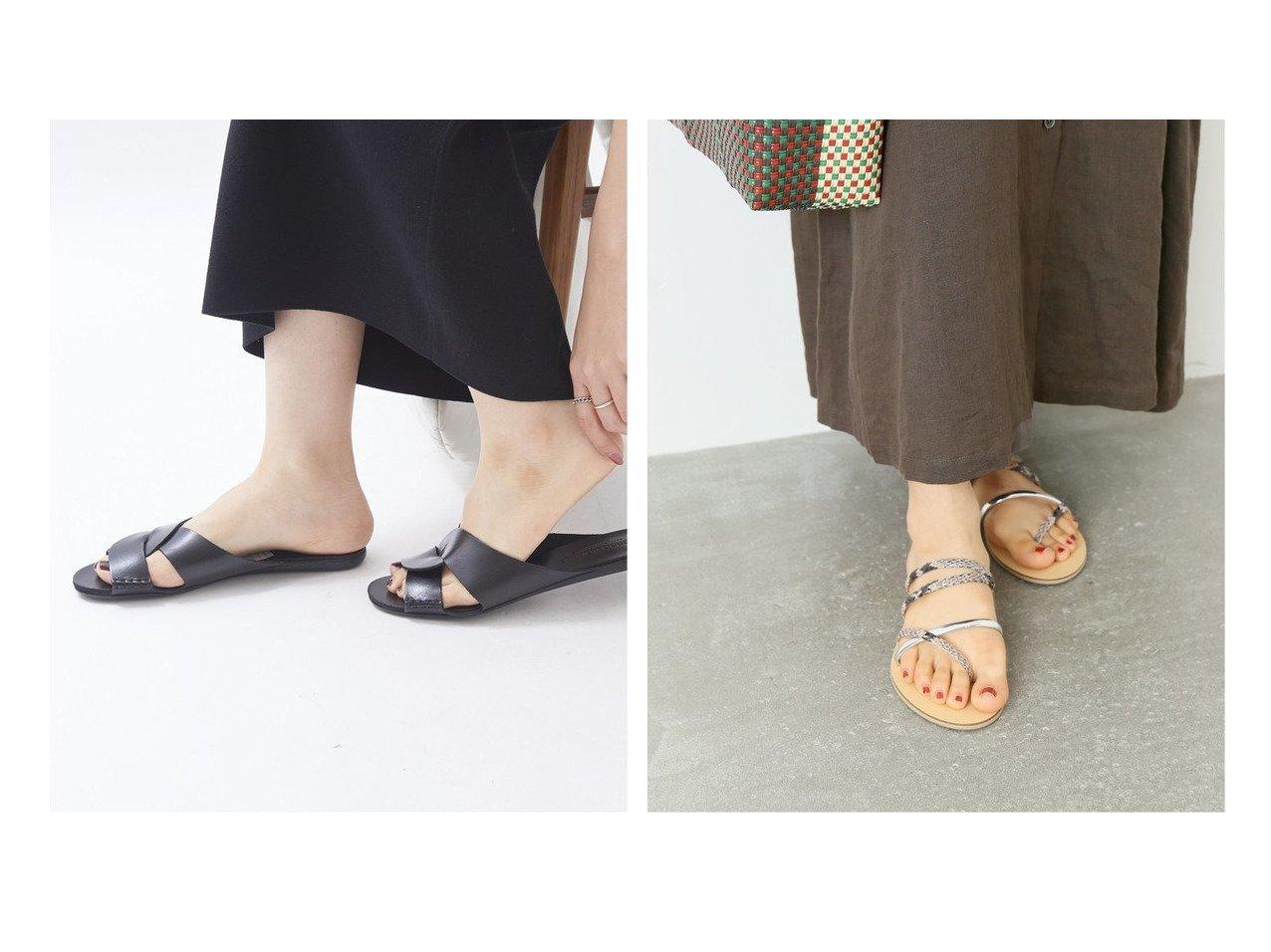 【journal standard L'essage/ジャーナルスタンダード レサージュ】の【NICOLAS LAINAS】SILVER NATURA スネークサンダル&【Plage/プラージュ】の【コルソローマ】CIABATTA サンダル 【シューズ・靴】おすすめ!人気、トレンド・レディースファッションの通販  おすすめで人気の流行・トレンド、ファッションの通販商品 インテリア・家具・メンズファッション・キッズファッション・レディースファッション・服の通販 founy(ファニー) https://founy.com/ ファッション Fashion レディースファッション WOMEN 2021年 2021 2021春夏・S/S SS/Spring/Summer/2021 S/S・春夏 SS・Spring/Summer おすすめ Recommend サンダル シューズ イタリア コレクション ラバー |ID:crp329100000053898
