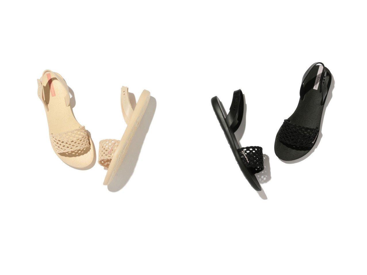 【ROPE'PICNIC PASSAGE/ロペピクニック パサージュ】のロペピクニック パサージュ ROPE PICNIC PASSAGE 【Ipanema】イパネマ BREEZY SANDAL 【シューズ・靴】おすすめ!人気、トレンド・レディースファッションの通販  おすすめで人気の流行・トレンド、ファッションの通販商品 インテリア・家具・メンズファッション・キッズファッション・レディースファッション・服の通販 founy(ファニー) https://founy.com/ ファッション Fashion レディースファッション WOMEN 2021年 2021 2021春夏・S/S SS/Spring/Summer/2021 S/S・春夏 SS・Spring/Summer サンダル ビーチ フィット フェミニン メッシュ ラップ 夏 Summer 春 Spring |ID:crp329100000053900