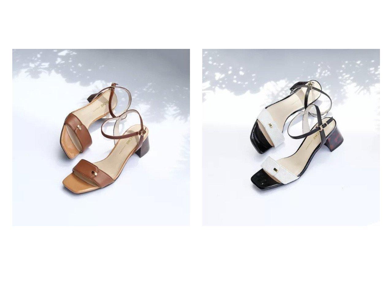 【Piche Abahouse/ピシェ アバハウス】のブロックヒールビットサンダル 【シューズ・靴】おすすめ!人気、トレンド・レディースファッションの通販  おすすめで人気の流行・トレンド、ファッションの通販商品 インテリア・家具・メンズファッション・キッズファッション・レディースファッション・服の通販 founy(ファニー) https://founy.com/ ファッション Fashion レディースファッション WOMEN サンダル シューズ パイピング ベーシック |ID:crp329100000053901